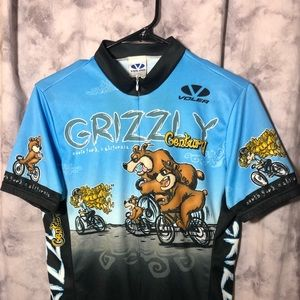 Grizzly Century club jersey Voler M 22 inches wide